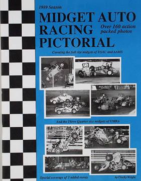 Auto Midget Racing on 1989 Season Midget Auto Racing Pictorial